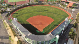 国际网联ITF认证牛棚训练棒垒球场进口红土