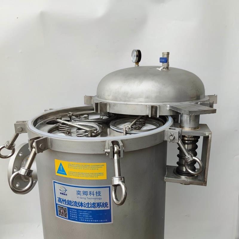不鏽鋼旋開多袋式過濾器 3袋式過濾器