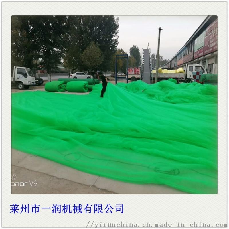 盖土绿网防晒网拉丝机 捆草密目网拉丝生产设备