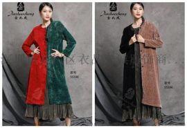 杭州精品女装金兆成品牌折扣货源进货渠道就找广州明浩
