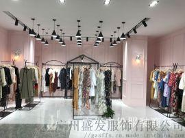 杭州品牌2019夏季新款女装裙子碎花连衣裙