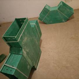 化工用环氧树脂玻璃钢托盘式电缆桥架