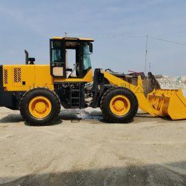 建筑工程小型铲车 农用四驱装载机 牛棚养殖柴油铲车