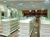 綿陽藥房藥店展櫃製作廠定做綿陽藥房貨架藥店貨櫃