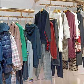 国内二线品牌米祖折扣女装剪标货源视频看货
