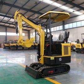厂家直销08小型挖掘机 多功能小挖机 室内用挖掘机