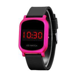 深圳手表工厂供应新款时尚led数字情侣电子手表