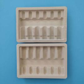 建昌供应 白色吸塑托盘植绒吸塑内托安瓿瓶托盘