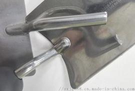 不锈钢园林工具铁铲用什么焊接工艺好?