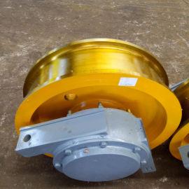 600×150 淬火调质车轮组 轨道车轮组