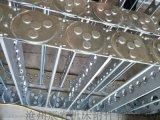 不锈钢钻机钢制拖链 沧州嵘实钢制拖链