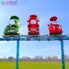 户外轨道观光架空游览车太空漫步游乐设备定制生产厂家