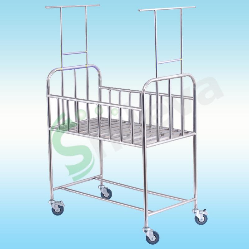 婴儿车,可移动新生儿床,医用婴儿护理床