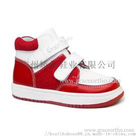 廣州外貿童鞋,兒童運動鞋,預防內外八字矯健鞋