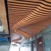 南通造型外牆鋁方通 深花梨弧形鋁方通吊頂