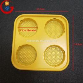 定制吸塑包装PS塑料咖啡杯架托盘
