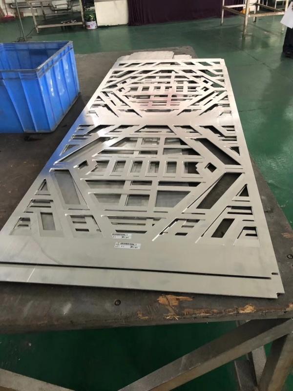 会展中心雕刻铝单板 展览馆雕刻铝单板外墙