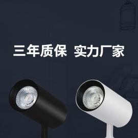 小功率LED轨道灯安装 COB天花筒灯 导轨射灯