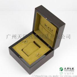 工厂定制钢琴漆木盒 定做手表盒 木质烤漆手表盒