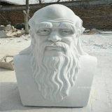 肇慶校園名人雕塑 玻璃鋼半身人像雕塑綠地擺件