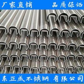 江西304不锈钢单槽管,拉丝不锈钢单槽管