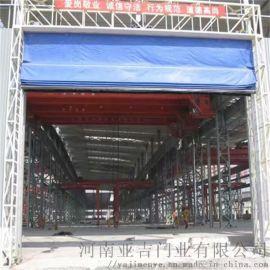 河南濮阳防护快卷门 透明快速卷帘门 工业门维修