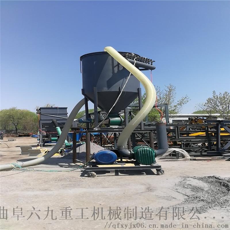 负压水泥粉输送机 风力集料机LJ1脉冲除尘抽料机