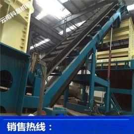 昆明富民移动式制砂机生产线移动砂机移动式制砂机