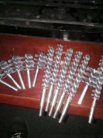 供应钢化玻璃清洗机毛刷厂家直销玻璃扫光刷筒