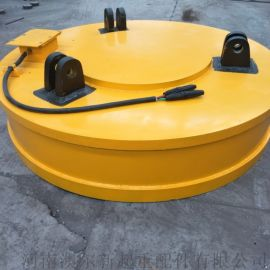 起重电磁铁 停电保磁电磁吸盘  圆形吸废钢电磁吸盘