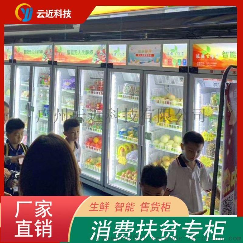 廣州消費扶貧專櫃廠家可定製批量生產消費扶貧智慧櫃