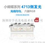 新品小蝴蝶系列4713側發光RGB燈珠