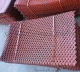 建筑钢笆片 0.7*1米菱形网孔钢笆片