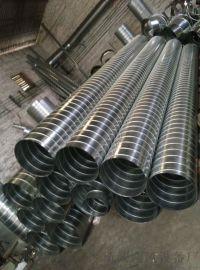 新诚法兰风管厂专业镀锌螺旋风管加工厂