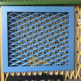防護拉伸網 熱鍍鋅鋼笆網 樓塔腳踏菱形鋼板網