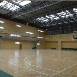 室内篮球馆木地板 地拓体育木地板 减震木地板