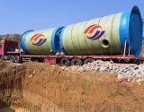 一体化污水提升泵站现场安装
