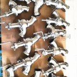 不锈钢气动换向阀 快装气动换向阀 卫生级气动换向阀