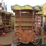 售賣車 新款塗鴉風復古油畫商品售賣車