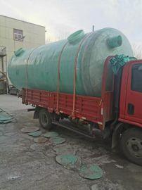 工业污水玻璃钢储水罐缠绕式化工储罐定制
