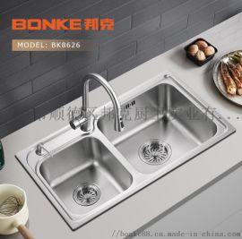 邦克不锈钢厨房水槽 厨卫洗碗盆洗菜池厂家