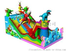 河南洛阳大型新款充气滑梯还孩子一个梦幻世界