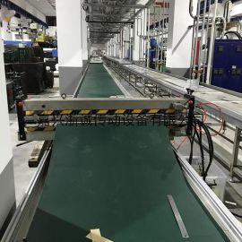 墨绿色Pu输送带 耐切割pu输送带