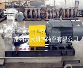 大流量循环油泵 高效热油泵 导热油泵 常州武研