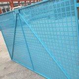 噴塑高層建築防護爬架網片定製 米字圓孔建築外牆施工爬架網