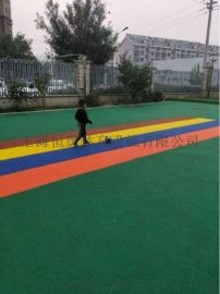 上海学校塑胶跑道铺设单位上海硅pu羽毛球场维修