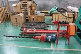 液压潜孔钻机电动岩石钻机潜孔冲击器钻头70型护坡锚杆深孔钻眼机