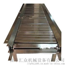 fu型链式输送机直销 纸箱板链输送机 六九重工 石