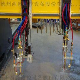 火焰直条钢板切割机 龙门数控切割机 金属板材切割机