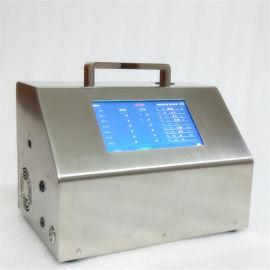 大流量触摸屏激光尘埃粒子计数器粉尘检测仪微粒检测仪